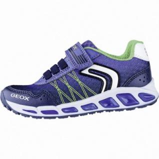 Geox coole Jungen Synthetik Sneakers navy, Geox Laufsohle, Blinksystem, Antishock, 3340133/29