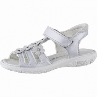 bfe0402eb630 Ricosta Chica Mädchen Metallic Leder Sandalen silber
