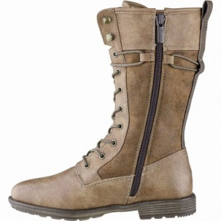 Mustang Mädchen Synthetik Winter Stiefel kastanie, 22 cm Schaft, Warmfutter, warme Decksohle, 3741168/37 - Vorschau 2