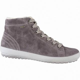 Legero softe Damen Leder Boots dark clay, 10 cm Schaft, Warmfutter, warmes Fußbett, Gore Tex, Comfort Weite G, 1741131/6.0