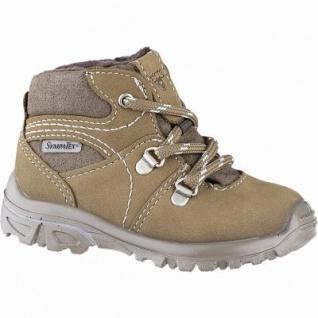Pepino Desse warme Jungen Leder Tex Boots caramel, Fleecefutter, warmes Fußbett, breitere Passform, 3241136