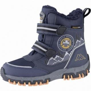 Kapppa Rescue Tex Jungen Synthetik Winter Tex Boots navy, 11 cm Schaft, Warmfutter, herausnehmbares Fußbett, 3741123/34