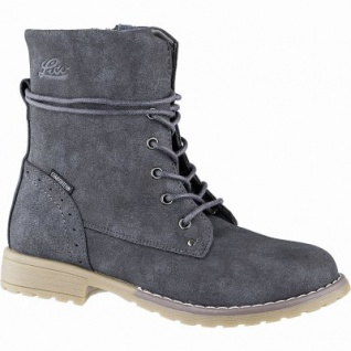 Lico Linea Mädchen Synthetik Tex Boots anthrazit, 14 cm Schaft, Warmfutter, warme Textileinlegesohle, 3741107/39