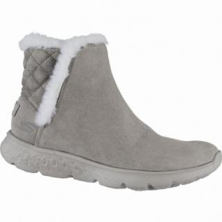 Skechers on-the-GO-400 cozies coole Damen Leder Winter Boots taupe, Warmfutter, 1639268