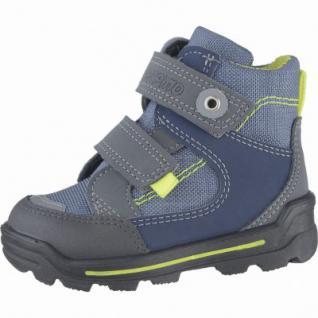 Pepino Friso Jungen Leder Winter Tex Boots antra, Lammwollfutter, warmes Fußbett, 3239122/22