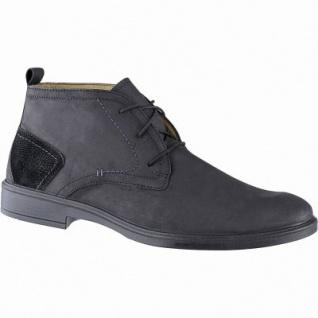 Jomos sportliche Herren Leder Boots schwarz, Lederfutter, herausnehmbares Jomos Fußbett, Luftpolstersohle, 2141142/41