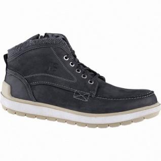 Josef Seibel Rudi 02 Herren Leder Winter Boots schwarz, 9 cm Schaft, molliges Warmfutter, warmes Fußbett, 2541161