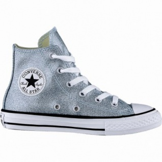 Converse Chuck Taylor All Star High Mädchen Glamour Sneakers bleached aqua, Converse Laufsohle, 3340105