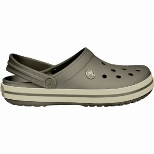 Crocs Crocband leichte Damen, Herren Crocs espresso, Croslite Foam-Fußbett, Belüftungsöffnungen, 4340101/48-49