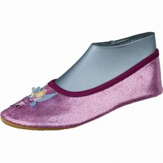 Beck Fee Mädchen Sport Satin Ballerinas pink, Mädchen Gymnatikschuhe, 4234130