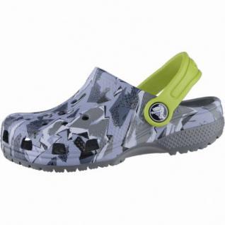 Crocs Classic Graphic Clog K Jungen Crocs camo, verstellbarer Fersenriemen, 4339103/25-26 - Vorschau 1