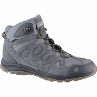 Jack Wolfskin Rocksand Texapore Mid Men Herren Mesh Trekking Boots phantom, atmungsaktives Polyesterfutter, 4439146/7.0