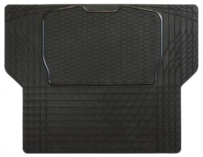 wasserfeste Kofferraum Schutz Matte Nitrilkautschuk schwarz 140x108 cm mit Sc...