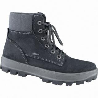 Superfit coole Jungen Winter Leder Gore Tex Boots schwarz, Warmfutter, warmes Fußbett, 3739147/37