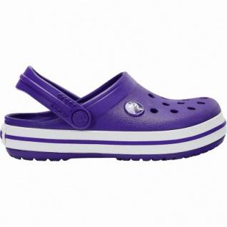 Crocs Crocband Clog Kids Mädchen, Jungen Crocs ultraviolet, anatomisches Fußbett, Belüftungsöffnungen, 4340120