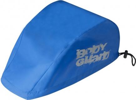 SAFETY MAKER Fahrradhelm Regenschutz blau wasserdicht, reflektierend, erhöht ...