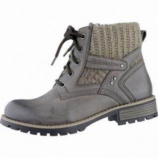 Jana modische Damen Synthetik Winter Boots taupe, Extra Weite H, molliges Warmfutter, warme Jana Decksohle, 1739128