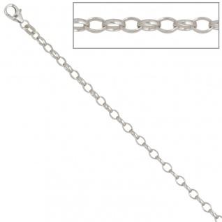 Ankerkette 925 Silber 3, 0 mm 60 cm Halskette Kette Silberkette Karabiner