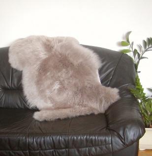 australische Lammfelle taupe gefärbt, vollwollig, 30 Grad waschbar, Haarlänge...