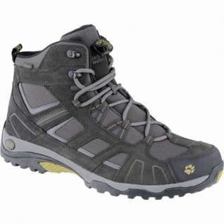 Jack Wolfskin Vojo Hike Mid Texapore Men Herren Leder Mesh Outdoor Stiefel burly yellow, Texapore Ausstattung, 4440157/9.0