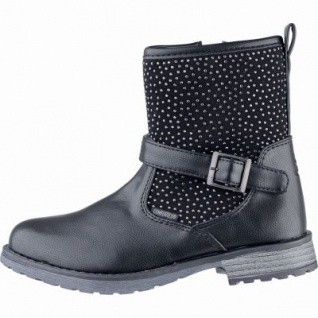 Lico Ria Mädchen Winter Synthetik Tex Boots schwarz, Warmfutter, warme Einlegesohle, 3739154/37