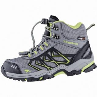 Kangaroos Molas HI Jungen Synthetik Tex Trekking Boots grey, Meshfutter, Fußbett, 4439125/36