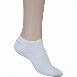 s.Oliver Classic NOS Unisex Sneaker weiß, 3er Pack Damen, Herren Sneaker Socken, 6533111/43-46