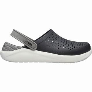 Crocs Lite Ride Clog superweiche + leichte Herren Clogs black, Massage Fußbett