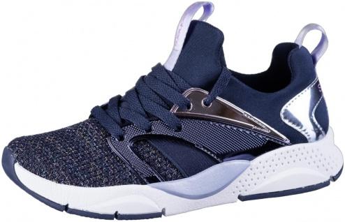 SKECHERS Shinestatus Jungen Sneakers navy, Strickmaterial, Skechers Fußbett