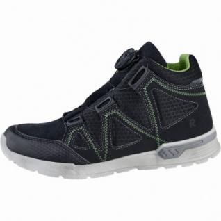 Ricosta Rocco Jungen Leder Tex Sneakers schwarz, Textilfutter, Ricosta Fußbett, 3339113/33