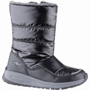 Kangaroos K-Confi RTX Mädchen Winter Synthetik Tex Boots black, 18 cm Schaft, leichtes Futter, herausnehmbare Sohle, 3741250/38
