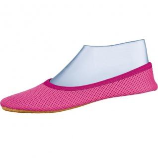 Beck AirBecks pink Mädchen Mesh Gymnastikschuhe, perforierte Gummilaufsohle, ...