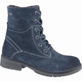 Lurchi Lorena Mädchen Leder Winter Tex Boots petrol, Warmfutter, warmes Fußbett, mittlere Weite, 3739133/37