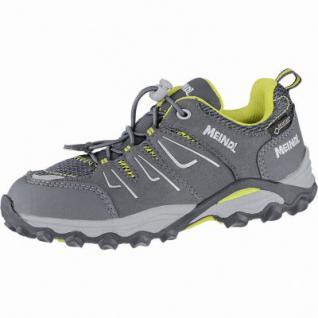 Meindl Alon Junior GTX Jungen Velour-Mesh Trekking Schuhe graphit, Ultra Grip-Junior II-Laufsohle, 4440104