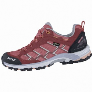 Meindl Caribe Lady GTX Damen Velour-Mesh Trekking Schuhe erdbeer, Air-Active-Fußbett, 4440108/8.0