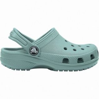 Crocs Classic Clog Kids Mädchen, Jungen Crocs tropical teal, Massage-Fußbett, Belüftungsöffnungen, 4340117/34-35