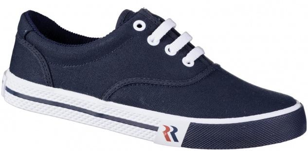ROMIKA Soling Damen, Herren Canvas Sneakers blau, waschbare Einlegesohle