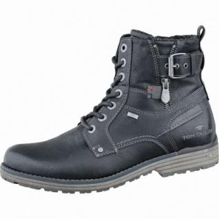 TOM TAILOR Herren Synthetik Winter Tex Boots black, molliges Warmfutter, wasserfest, 2537123