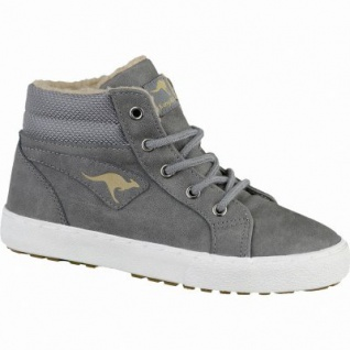 Kangaroos KaVu l coole Jungen Synthetik Winter Sneakers grey, Warmfutter, warmes Fußbett, 3739137/36