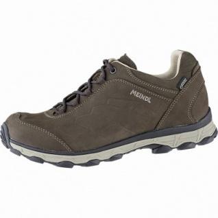 Meindl Palermo GTX Herren Leder Outdoor Schuhe braun, Comfort Fit, Meindl Lite Trail Gummiprofilsohle, 4441110