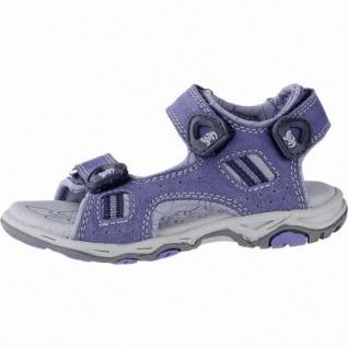 Lurchi Bernie leichte Jungen Leder Sandalen jeans, mittlere Weite, Lurchi Fußbett, 3540115/32