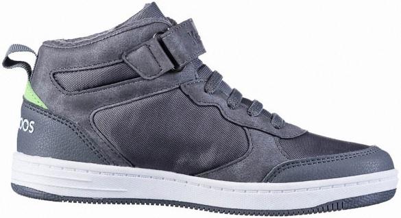 KANGAROOS Kally EV S Jungen Synthetik Sneakers grey, Fleecefutter, Gummi Laces