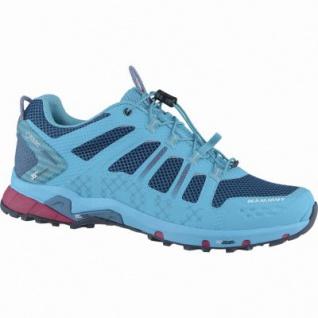 Mammut T Aenergy Low GTX Women Damen Textil Outdoor Schuhe pacific, Gripex Tri Traction-Laufsohle, 4438186