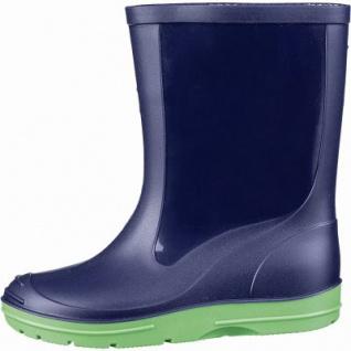Beck Basic Mädchen, Jungen PVC Regen Stiefel blau, herausnehmbare Einlegesohle, 5042105/21