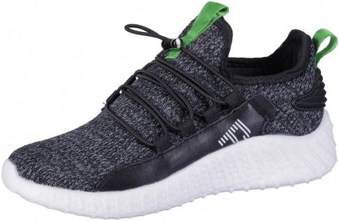 RICHTER Jungen Strick Sneaker black, mittlere Weite, softes Leder Fußbett