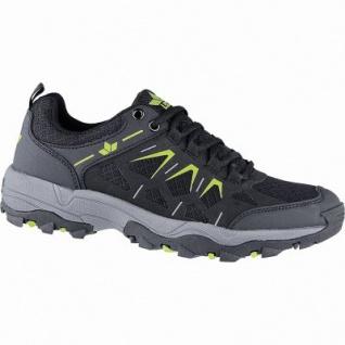 Lico Sierra Damen Nylon Trekking Schuhe schwarz, Textilfutter, auswechselbare Textil Einlegesohle, 4440121/36