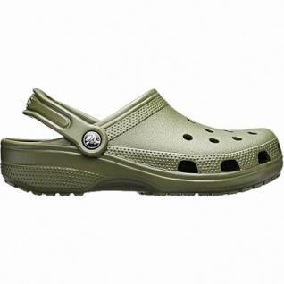 Crocs Classic Damen, Herren Crocs army green, Massage Fußbett, verstellbarer Fersenriemen, 4342101/36-37