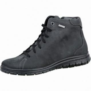 Jomos Damen Leder Winter Boots schwarz, Extra Weite H, Sympatex, Warmfutter, warmes Fußbett, 1737109