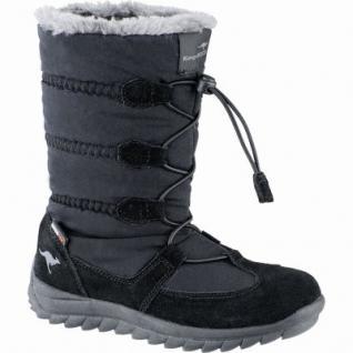 Kangaroos K-Frost coole Jungen Synthetik Winter Tex Boots jet black, Warmfutter, warmes Fußbett, 3739138/28