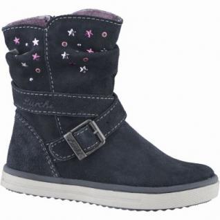 Lurchi Cina Mädchen Leder Winter Tex Stiefel atlantic, Warmfutter, warmes Fußbett, mittlere Weite, 3739124/30